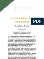 La educacion desde la comunicacion - Introducción