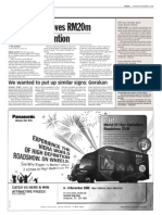TheSun 2008-11-06 Page14 Selangor Approves RM20m for Flood Prevention