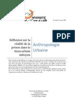 Projet d'Anthropologie Prisons Licence3 2007