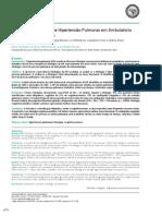 Frequência Etiológica da Hipertensão Pulmonar em Ambulatório