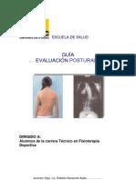evaluacion postural