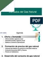 Produccion y Demanda de Gas Natural en El Mundo