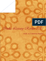 India Luxury Review 2011 CII at Kearney Report