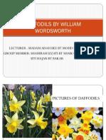 Daffodils by William Words Worth