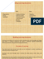 Building Learning Dynamics