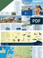 Nordsee Ferienkarte