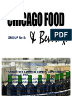 Chicago Food and Beverage Presentation