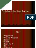 Sosialisasi Dan Kepribadian (1)