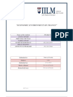 A Project Report on Economic Situation of France