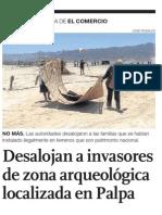 Líneas de Nasca y libres de invasores pero faltan proyectos de gestión cultural.
