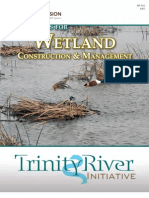 Techniques for Wetland Construction and Management