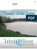 Linking Water Conservation and Natural Resource Stewardship in the Trinity River Basin