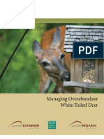 Managing Overabundant White-Tailed Deer