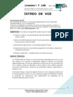 MUESTREO DE VOZ