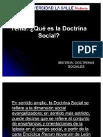 2 Que Es La Doctrina Social