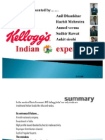 31813817 Kelloggs Indian Experience