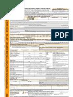 IDFC Long Term Infrastructure Bond Tranche 2 Application Form 2012