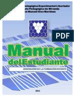 Manual Del Estudiante UPEL 2011