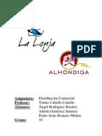Trabajo Distribución comercial Lonjas y ahlondigas grupo 10