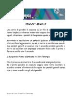 PENDOLI GEMELLI