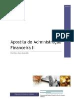 Apostila - Administração Financeira II