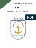 2011 JC Passlist