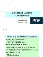 Embedded Systems Development Rev A