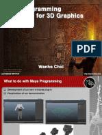 Maya Programming for 3D Graphics