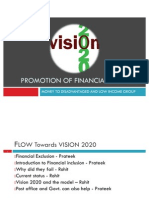 Promotion of Financial Inclusion