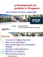 Housing Developments for Ageing Population in Spore - Yap Chin Beng