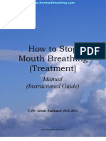 How to Stop Mouth Breating Treatment
