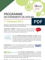 Programme Animation Atelier