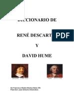 Diccionario Descartes y Hume