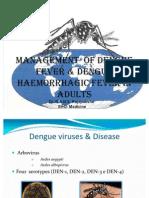 Management of Dengue Fever & Dengue H'Gic Fever in Adult