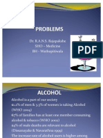 Alcohol & Alcohol Related Problems