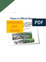 Mullaiperiyar Flaws in ReporT