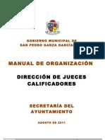 Manual de Org. Jueces Calificadores Revisado Normatividad 19.08.11