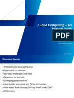 Cloud Computing an Internal Audit Perspective