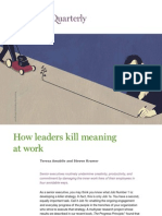 How Leaders Kill Meaning at Work
