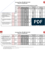 Assessment Plan (2011-2015) - Information and Journalism