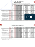 Assessment Plan (2011-2015) - Advertising and Public Relations