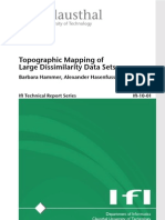 Barbara Hammer and Alexander Hasenfuss- Topographic Mapping of Large Dissimilarity Data Sets