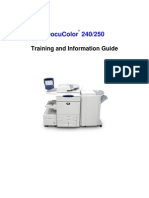 DC250 Training Information Guide