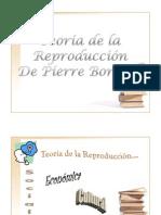 Teoria de La Reproduccion