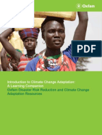 Introduction to Climate Change Adaptation