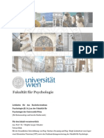 Leitfaden Bachelor Psychologie Final