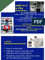 Starting LASIK LASER PRACTICE  in a Non Metro City Dr Vidushi Pandey SuVi Eye Institute Kota India