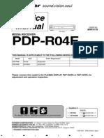 Pioneer Pdpr04e Plasma Receiver Sm [ET]