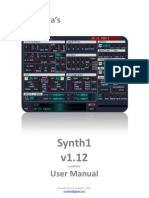 Synth1 v1.12 Unofficial User Manual Ver2.1