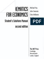 fundamental methods of mathematical economics 4th edition solution manual pdf